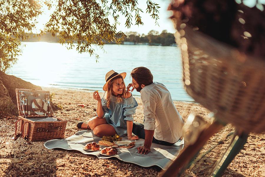 picnic praia